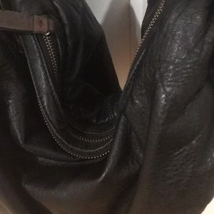 BCBGMaxAzria Bags - Bcbg leather handbag